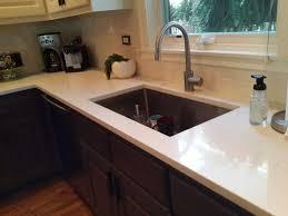 beige countertops with straight edge design