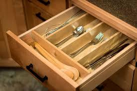 Small Kitchen Drawer Organizer Tips Kitchen Organizer Simple Silverware Tray Design Lowgallerycom