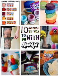 Tie Dye Color Chart Momma Told Me 10 Awesome Things To Do With Kool Aid This Summer