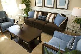 living room ideas dark brown sofa image of living room color schemes with brown leather furniture