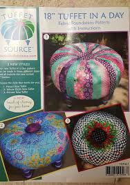 Tuffet Pattern Gorgeous New Tuffet In A Day Pattern By Tuffet Source With Fusible Foundation