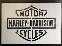 hand made harley davidson wall art 0
