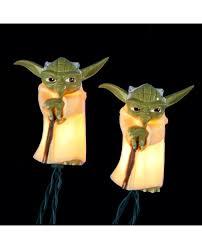 Star Wars String Lights Yoda Star Wars String Christmas Lights