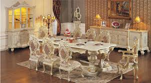 Antique White Dining Room Unique Decorating Design