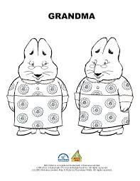 Small Picture Max And Ruby Bunny Cakes Coloring Pages Elioleracom