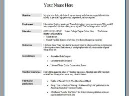 windows resume
