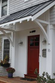 front door overhangFront Door Overhang Ideas  thesouvlakihousecom