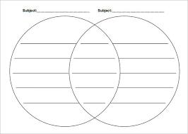 Compare And Contrast Venn Diagram 3 Circles 36 Venn Diagram Templates Pdf Doc Xls Ppt Free Premium