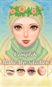 hijab princess make up salon apk screenshot