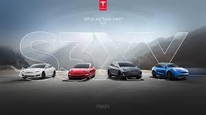 The new Tesla website webdesign we made ...