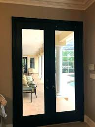 black plantation shutters on the french doors white windows paint color is versatile gray interior blackout for