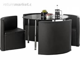 space saving dining table and chairs the little buzz round table and chair set