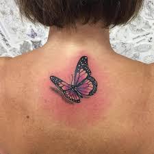 3d Butterfly Tattoo Fashionizm Best Tattoo
