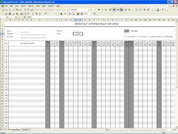 Printable Attendance Sheet For Teachers Rent A Room Tenancy ... Free ...