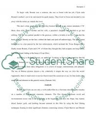 movie analysis of bonnie and clyde essay movie analysis of bonnie and clyde 1967 essay example