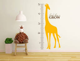 Cute Growth Chart Decorative Growth Charts Rulers As Baby Gifts Driven By