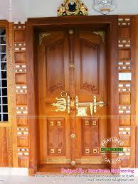 Kerala Teak Wood Door Designs Pin By Sreenarayanan Nair On Door1 Double Front Doors