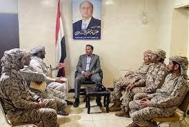 نائب رئيس مجلس النواب يلتقي قيادات مدنية وعسكري في مأرب