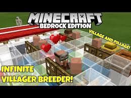 infinite villager breeder village
