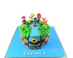 Sonic The Hedgehog Cake 3d Cake Store