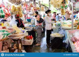 Bangkok, Thailand - May 7, 2020 : Saphan Song Market On Covid-19 Quarantine  At Bangkok Editorial Photography - Image of care, coronavirus: 182048587