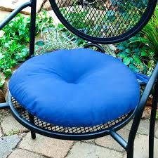 various outdoor seat pads inch round chair pads round outdoor bistro chair cushions amazing round outdoor
