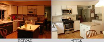 painting laminate kitchen cabinets before and after. Modren Cabinets How To Paint Laminate Kitchen Cabinets Painting  With Chalk  Large For Before And After C