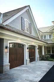 white wood garage door. White House Garage Sf Shingle Home With Wood Doors And Bonus Room Above Design Software Free Mac Door