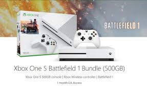Get the 500 GB Xbox One S Battlefield 1 ...