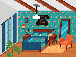 Dream rooms furniture Beautiful Dream Drawings From My Dream Rooms Series Heavencityview Dream Rooms Michele Rosenthal Illustration