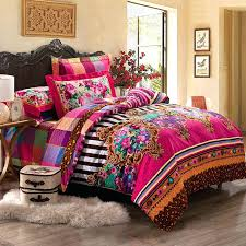 western bedding king size western twin bedding sets full queen size cotton bohemian style fl