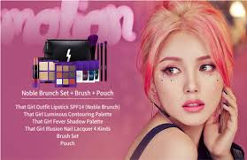 people are going wild and dying to try the latest makeup s from her new line pony effect that are being sold on web mall 11st