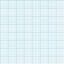 Graph Paper Light Blue Fabric Weavingmajor Spoonflower