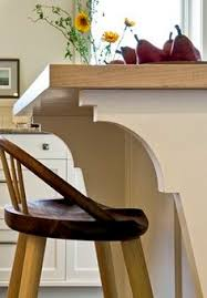 traditional kitchen by smith vansant architects pc just the righ corbels for my island
