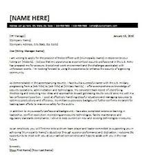 military cover letter cover letter for military transition office templates online