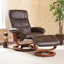dark brown leather recliner chair. Bedroom Recliner Chair, The Best Place To Relax : Modern Contemporary Chair Designed With Dark Brown Leather O