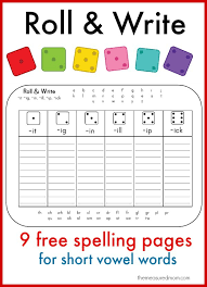 Learn to spell short vowel words with these fun printables! - The ...