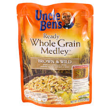 uncle ben s ready rice whole grain medley brown wild and red rice 8 5 oz packaged rice meijer grocery pharmacy home more