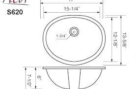 standard sink sizes bathroom s interior design ideas size faucet hole vanity depth dim standard sink sizes