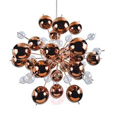 explosion pendant light with copper spheres 7000839 01