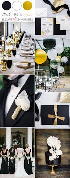 elegant black and white wedding 40 most inspiring classic black and white wedding ideas