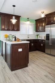 Kitchen With White Cabinets And Green Walls Amthuchanoi