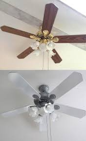 home decorators collection weathered gray ceiling fan with light