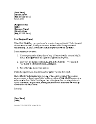 Download Apology For Error Caused By Another Company Letter