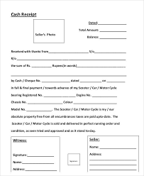 Auto Sales Receipt Template Sample Sales Receipt Form 6 Examples In Word Pdf