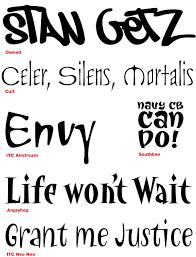 Fonts For Tattoos Tattoo Fonts Fonts Com Fonts Com