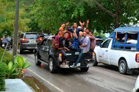 Thai Officials Says You Can Ride in the Back of Pickup Trucks During ...