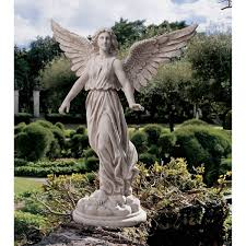 angel garden statue. amazon.com: 38\ angel garden statue a