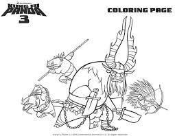 Kung Fu Panda Coloring Page Printable Coloring Pages Crafts