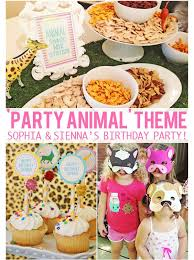fun ideas for a birthday party at home. party animal theme birthday from the busy budgeting mama - decor, games, too fun! fun ideas for a at home i